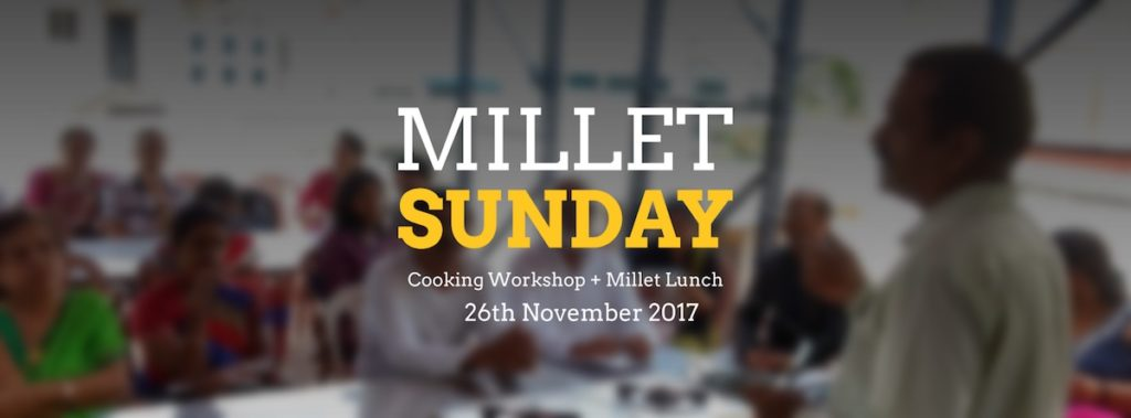 Millet Sunday at Yelahanka