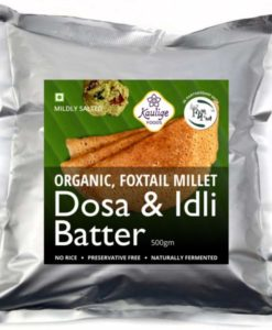 Foxtail Millet Batter