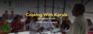 Cooking With Korale (Browntop Millet)