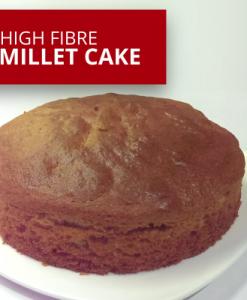High Fibre Millet Cake