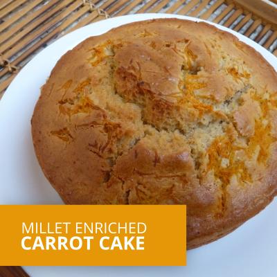 Millet Carrot Cake