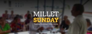 Millet Cooking Workshop & Lunch